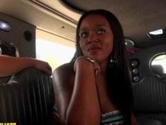 Money turns on Penny Nichols and Lily Rader for a hot threesome in a limo