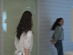 Chinese girls handcuffed and arrested 6