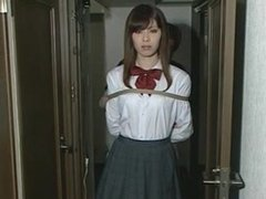 Asian Schoolgirl Bondage Struggle