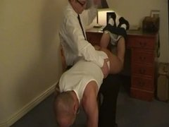 Spanked For Fighting!