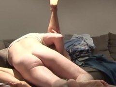 Asian Whore enjoying Threesome