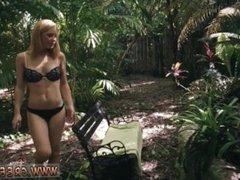 Big tittied blonde milf bondage Raylin Ann is a sexy, super-steamy blonde