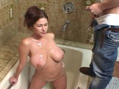 Tiffany Mynx drinks piss part 2