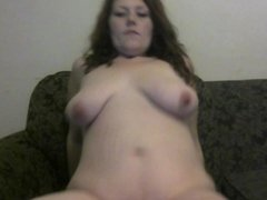 Busty 7 Month Pregnant Redhead Masturbates For Someone She Has a Crush On