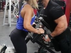 Regan Grimes Uses his girlfriend as a human weight
