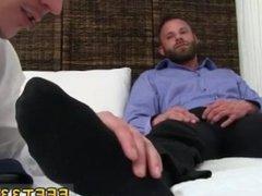 Gay men sex porno movie Derek Parker's Socks and Feet Worshiped