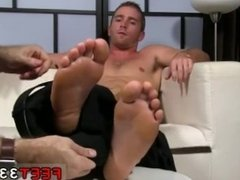 Russian gay feet video Scott Has A New Foot Slave
