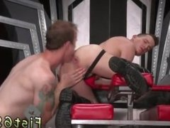 Hot gay boy with old man for sex Tatted cutie Bruce Bang catches sight of