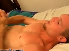 Male bi curious gay porn and boy running with his dick dripping cum