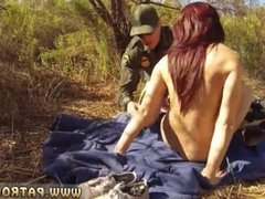 Fake cop first time Redhaired peacherino can do everything to smuggle