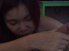 18 year old girl at Thai girl blowjob