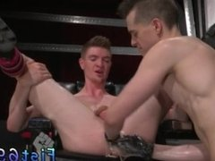 Fisting pissing black man gay Axel Abysse and Matt Wylde bathe each other
