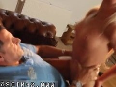 Nasty old doctor and old wife fucks black first time Phillipe is sleeping