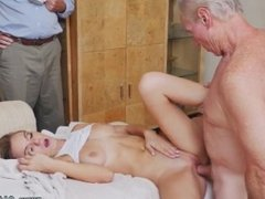 Young couple and old couple swap first time Molly Earns Her Keep