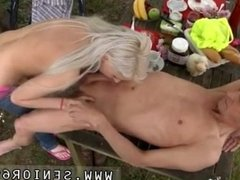 Three blondes pov blowjob Paul is liking his breakfast in the garden with