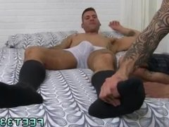 Feet boys sex movies and gay porno boys feet Caleb Gets A Surprise Foot