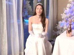 Breath-Taking Newhalf Bride