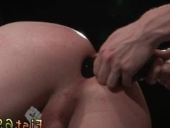 Fisting ass male gay Axel Abysse and Matt Wylde bathe each other in a