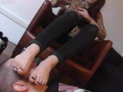 Emma's stinky feet and socks