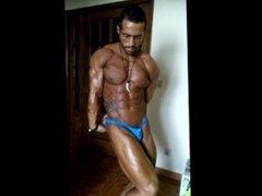 Bodybuilder Posing Practice 2