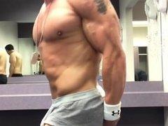 Bodybuilder Posing Practice 22