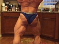 Bodybuilder Posing Practice 26