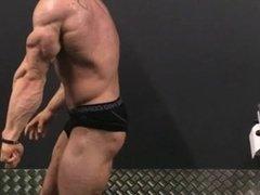 Bodybuilder Posing Practice 28