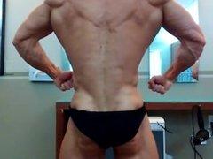 Bodybuilder Posing Practice 38