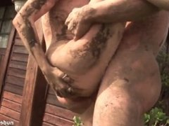 Crazy outdoor anal sex [French]