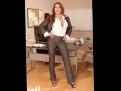 Francesca Le Milf Big Tit Porn Star Photo Montage Posing Music Video
