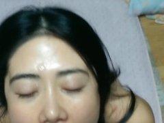 Asian Milf Facial