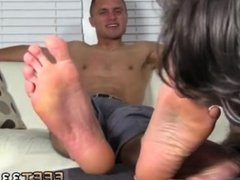 Cute boys tied up feet gay Tommy Makes Tenant Worship His Feet