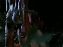 """Emanuelle and the Last Cannibals"""" -(1977) - interracial scene"""