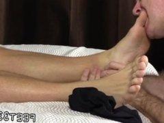 Old fat gay men having sex video Sleepy Kenny Gets Foot Worshiped