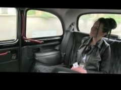 Anal fuck in Taxi
