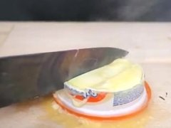 EXPERIMENT Glowing 1000 degree KNIFE VS MATCHES