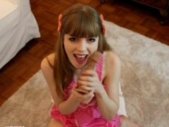 Cute Submissive Dolly Fucks Herself For You
