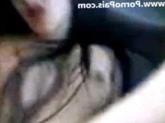 pendeja garchada en auto