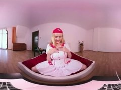 [HOLIVR 360 VR Porn] Sexy Nurse in Webcam Live. ASMR