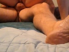 Blonde Hotwife Loves To Reverse Cowgirl
