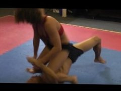 Gymnast Mixed Wrestling