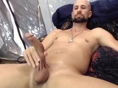 Alpha Male curved cock solo