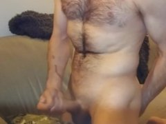 Tugging my cock for you