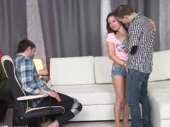 Make Him Cuckold - Punished into cuckolding role