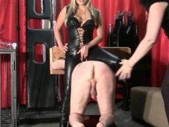 Teasing Mistresses Mistress Kaz B & Harley Tease Their Gimp