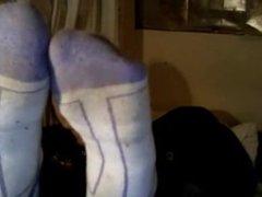 Geek Feet Sock Strip Tease