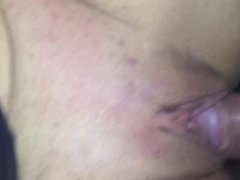 Cummin inside of her fat pussy