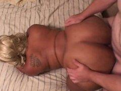 Big Butt Mature BBW Gets Anal