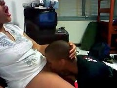 teenage Black Princess has her pussy licked for the first tim, EPIC!