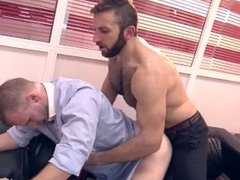 From Behind - Fuck In The Office (Malek Tobias & Jalil Jafar)